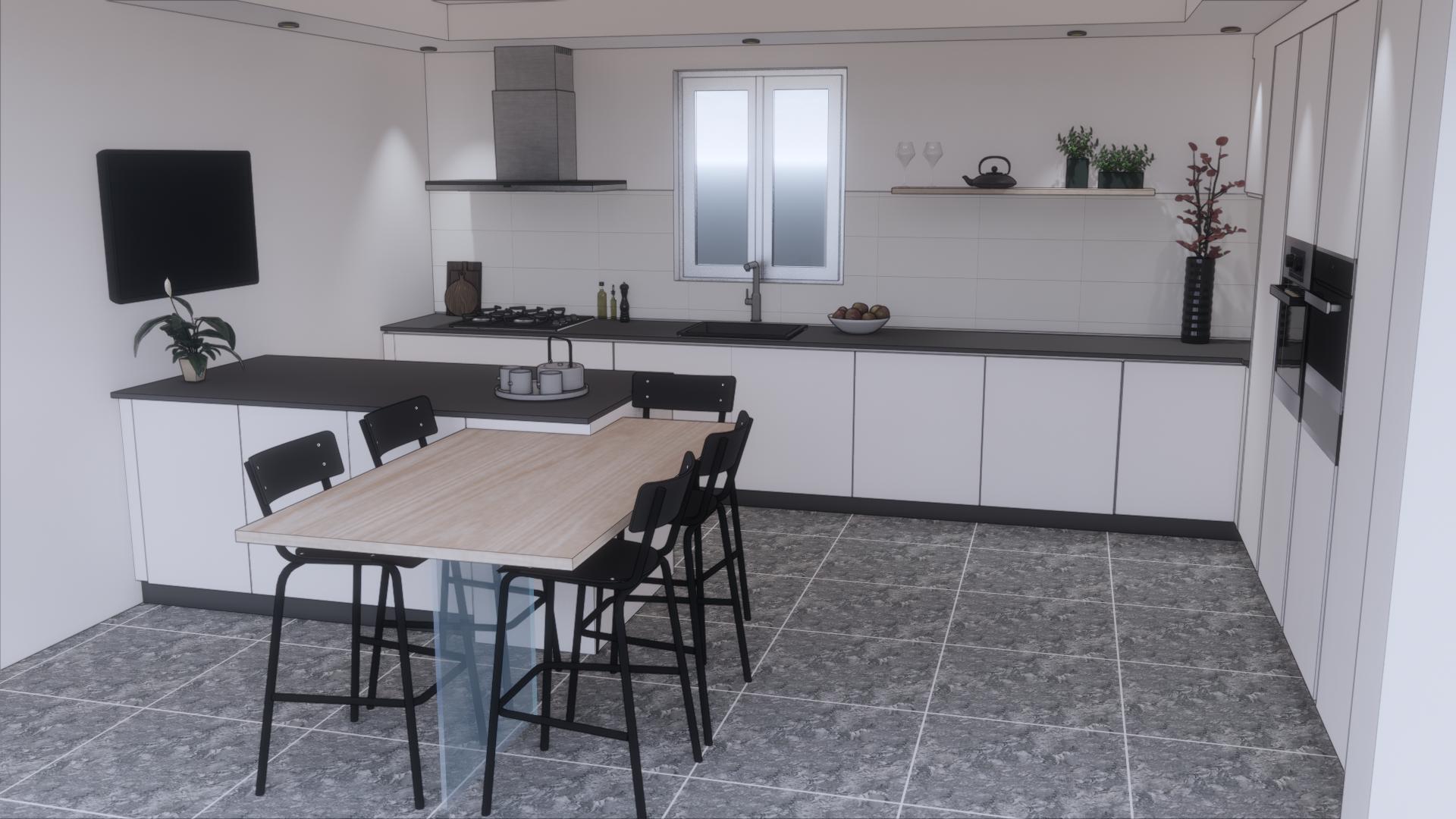Rénovation de cuisine à Hoenheim