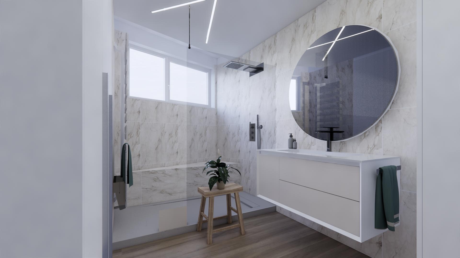 Aménagement d'une salle de bain à Strasbourg