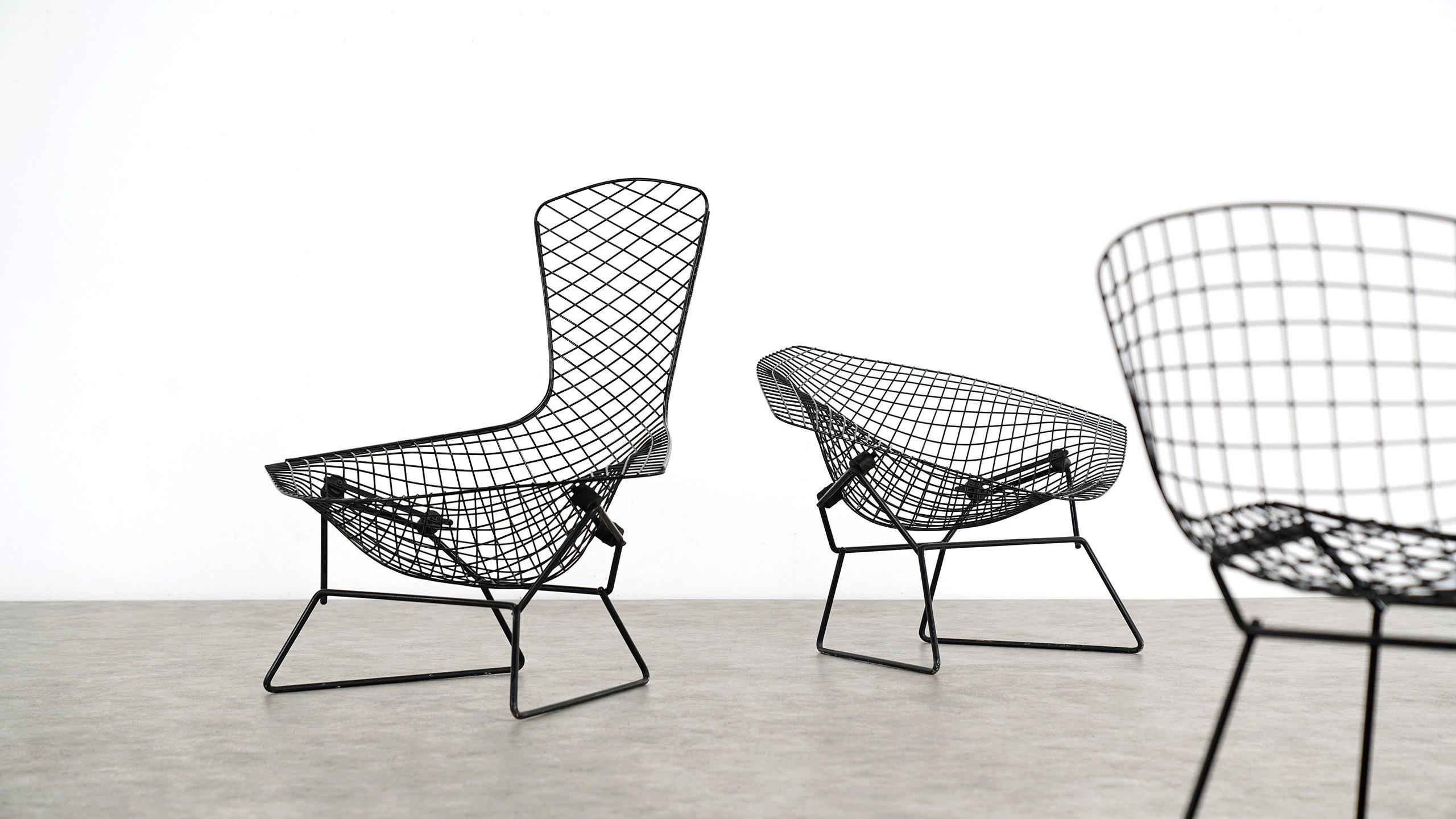 Matrix – Collection de fauteuils de Harry Bertoia