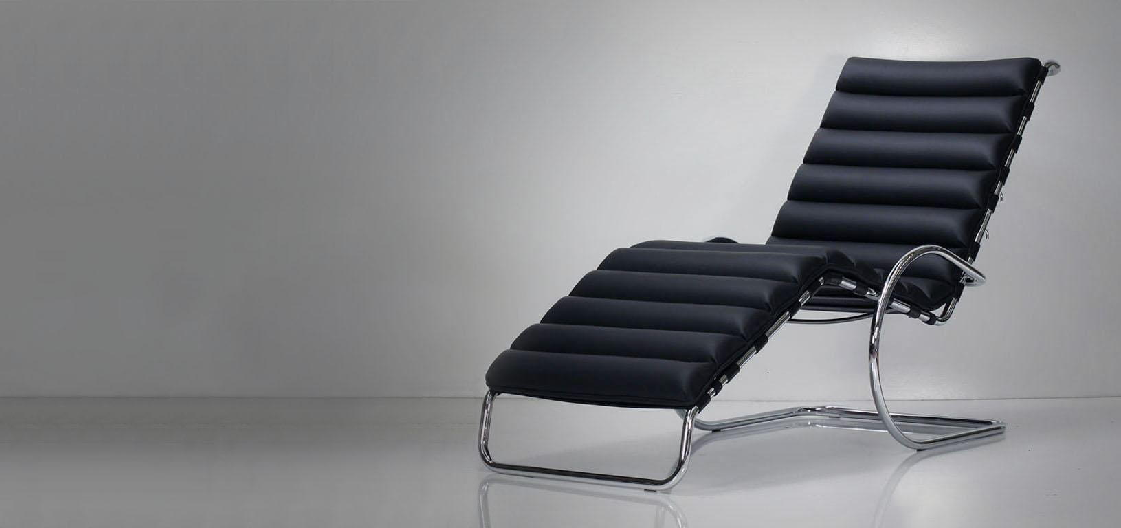 Matrix - Chaise longue de Mies Van der Rohe