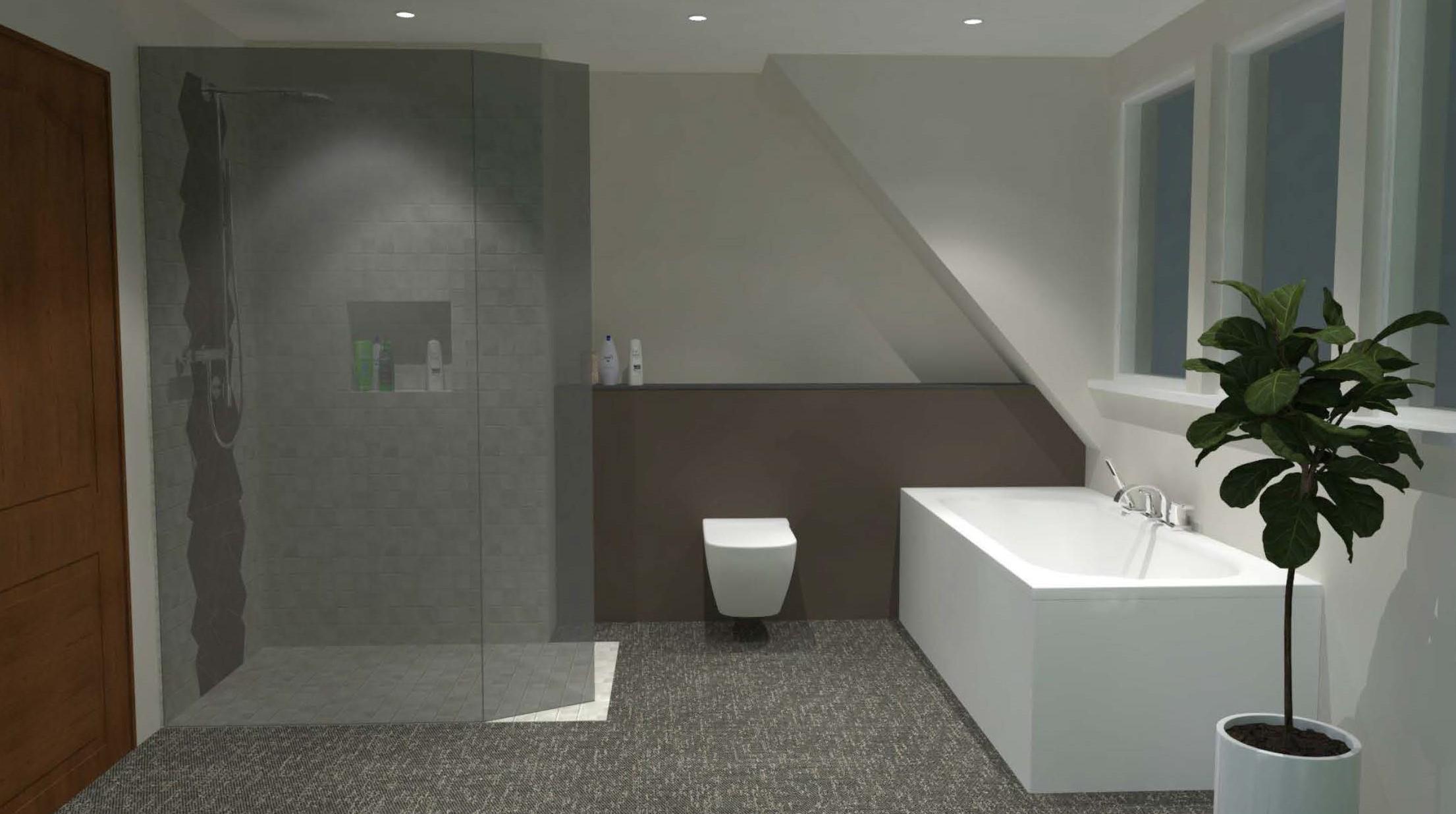 Salle de bain à Breuschwickersheim